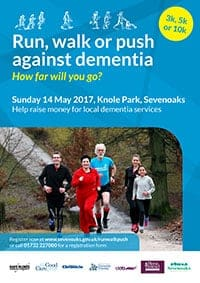Run, walk or push against dementia