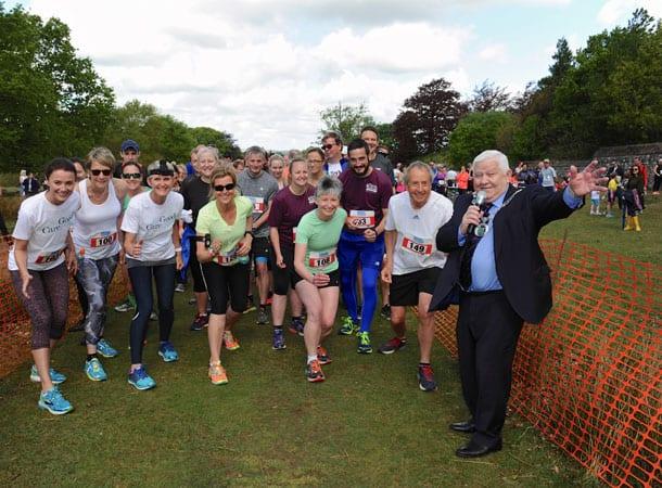 start of the run