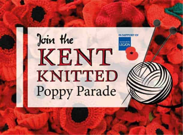 Kent Knitted Poppy Parade logo