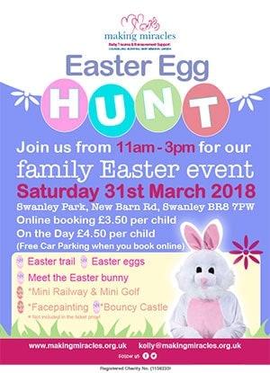 Easter Egg Hunt 31 March 2018